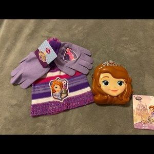 Sofia the first accessories set NWT